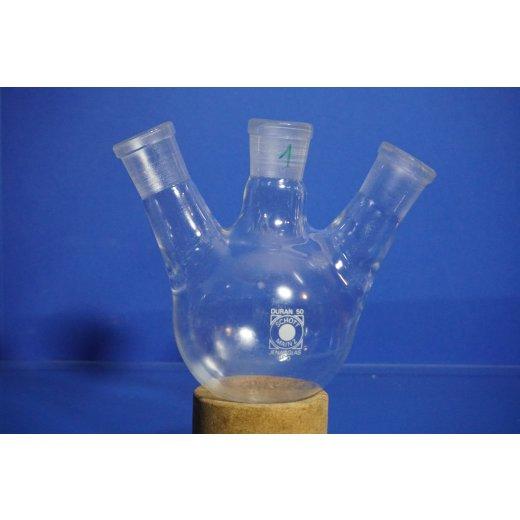 Mehrhalskolben, Rundkolben, Dreihalskolben, Zweihalskolben, Laborglas, Kolben NS29/32, NS14