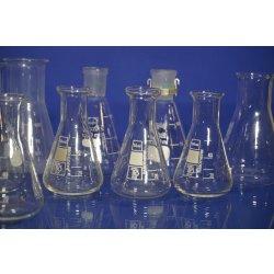Erlenmeyerkolben, Enghals, Weithals, Schliff, Laborglas, Set, Schott, etc Set