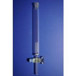 Chromatographie-Säule, Fritte Por. 0, Laborglas, chromatography column, Labor