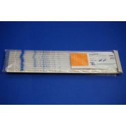 10x 5 mL Messpipetten, neu, mit Filterbett, Klasse S, Pipetten, Laborbedarf, Lab