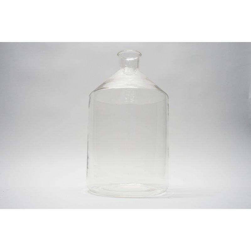 Laborglas 5 L Apothekerflasche Weißglas Steilbrustflasche 5000 mL