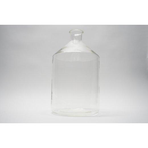 Apothekerflasche, 5000 mL, Steilbrustflasche, Laborglas, Weißglas, 5 L
