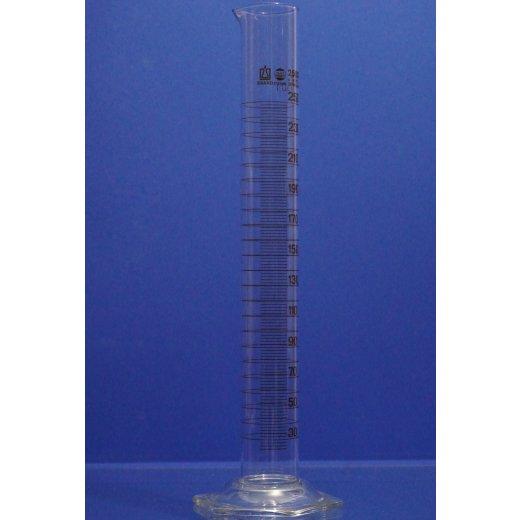 Messzylinder, 250 mL, messzylinder 250 ml glas, mit Grad., Laborglas, Zylinder
