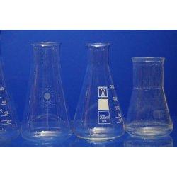 Erlenmeyerkolben Set 6 Erlenmeyerkolben 1000 mL 500 mL 300 mL Glas Kolben