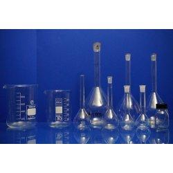 Bechergls Set Labor konvolut Messkolben Flaschen 500 mL 100 mL 1000 mL Laborglas