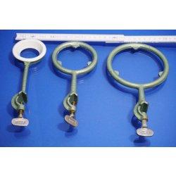Stativmaterial Stativring Stativ Zubehör Kochring Muffe Ring mit Muffe Set