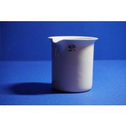 Laborporzellan, Keramik Becher, evaporating dish, Keramik, Laborzubehör, Becher