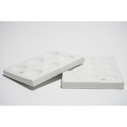Tüpfelplatte spotplate Laborbedarf Labor Laborporzellan Täplälevykokeella