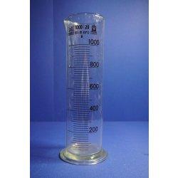 Messzylinder, 1000mL, Laborglas, graduated measuring glass, Zubehör, 1L, Brand