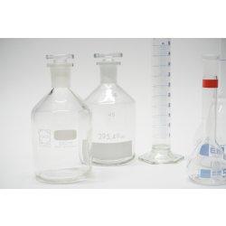 Laborset Messkolben Mischzylinder Steilbrustflaschen...