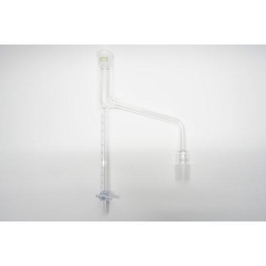 Wasserabscheider 10 mL NS29/32 mit NS Hahn Wasserbestimmungsapparat Dean Stark