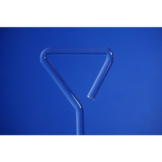 Drigalski-Spatel aus Glas, 145x50x5 mm, Drigalski spatula, Laborbedarf, Labor