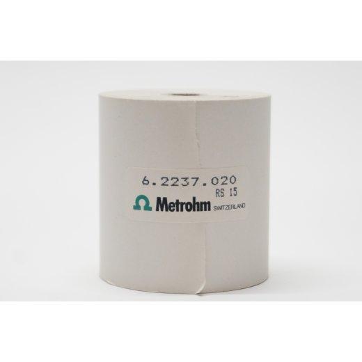 Thermopapier/ 35 m Artikelnummer: 6.2237.020 Metrohm