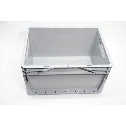 Eurobox geschlossen Grau Stapelbox Lagerbehälter...