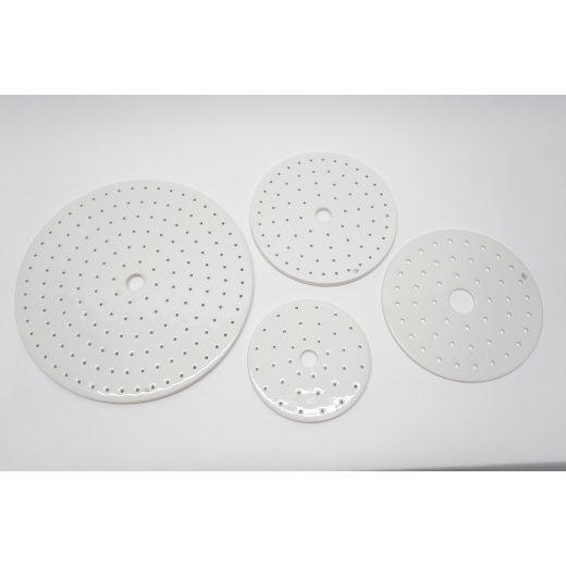 Exsikkatoren Platte Lochplatte Porzellan nach DIN unterschiedliche Größen