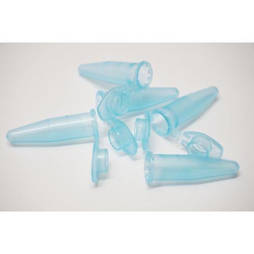 Reaktionsgefäße, Zentrifugenröhrchen, 1,5 ml, blau, Labor, Lab