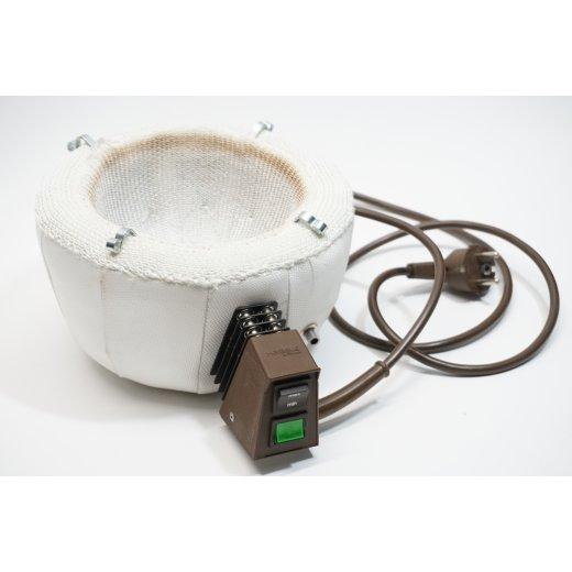 Heizpilz Isopad GSB 1000 mL Heizhaube Haube Wasserdicht nach IP65 Laborpilz