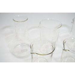 9 Teilig Becherglas Erlenmeyerkolben Set Laborbedarf...