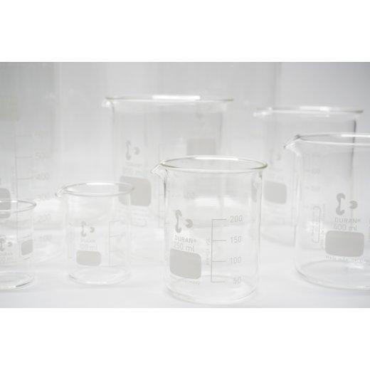 Becherglas Duran Schott 50ml 100, 250, 400, 600,800, 1000ml 2000ml 3000ml 5000ml