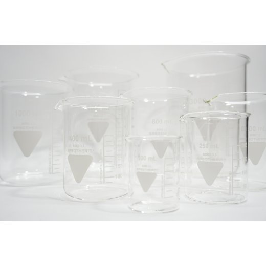 Becherglas niedere Form Rasotherm 100 150 250 400 600 800 1000 2000 3000 mL