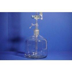 Automatik Bürette 50 ml nach Pellet, mit 2L Flasche NS29, Brand, Laborbedarf