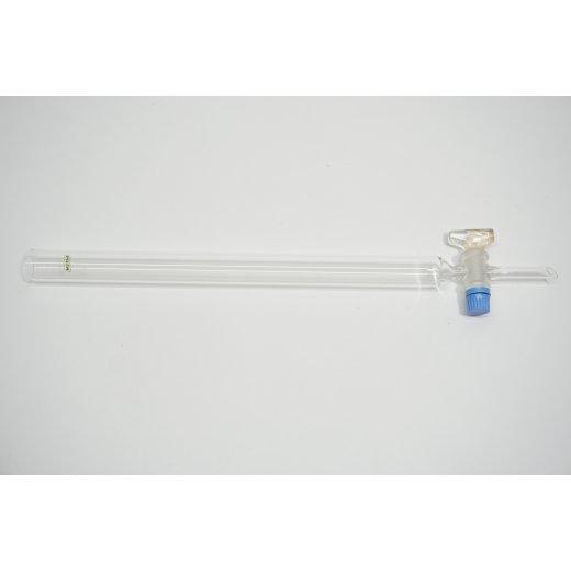 Chromatographie-Säule 39,5 cm Chromatographiesäule Laborbedarf Laborglas