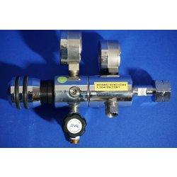 Flaschendruckminderer, Druckminderer, Pressure regulator, Methan, Labor, CH4