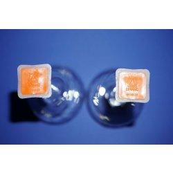 2x Messkolben, Brand 250mL, Duranglas, nach DIN12664, Volumetric flask, Lab