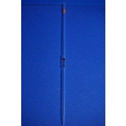 1 x Vollpipette 2 mL, Hirschmann, Pipette, glassware, Laborglas, +/- 0,01 mL