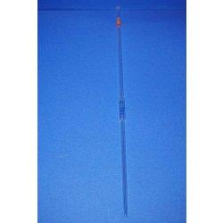 1 x Vollpipette 2 mL, Hirschmann, Pipette, glassware, Laborglas, +/- 0,01 mL, AS