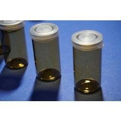 Globulibehälter Flaschen Präparateglas Deckel Glas Braun 10 mL Vials Laborglas