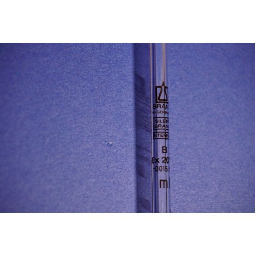 Messpipette, 2 mL, Brand, Pipette, lab, Silberbrand, Laborglas, B, +/-0,015 mL