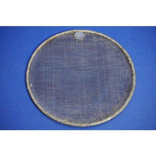 Rundsieb, Durchmesser Ø 12 cm, 0,8 x  0,8 mm, Sieb, Sieve, Laborbedarf, fein