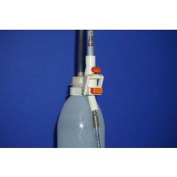 Titrierapparat, Schnellbetriebsbürette, 10mL, Brand, Laborglas, Vorratsflasche
