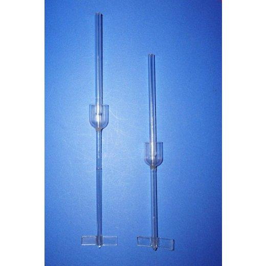 2x, Laborglas, Rührer, 2 Flügel, Blattflügel, Lab, glass, Stirrer, Set, labor