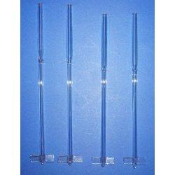 4 Laborglas, Rührer, 2 Flügel, Blattflügel, Lab, glass, Stirrer, Set, laboratory